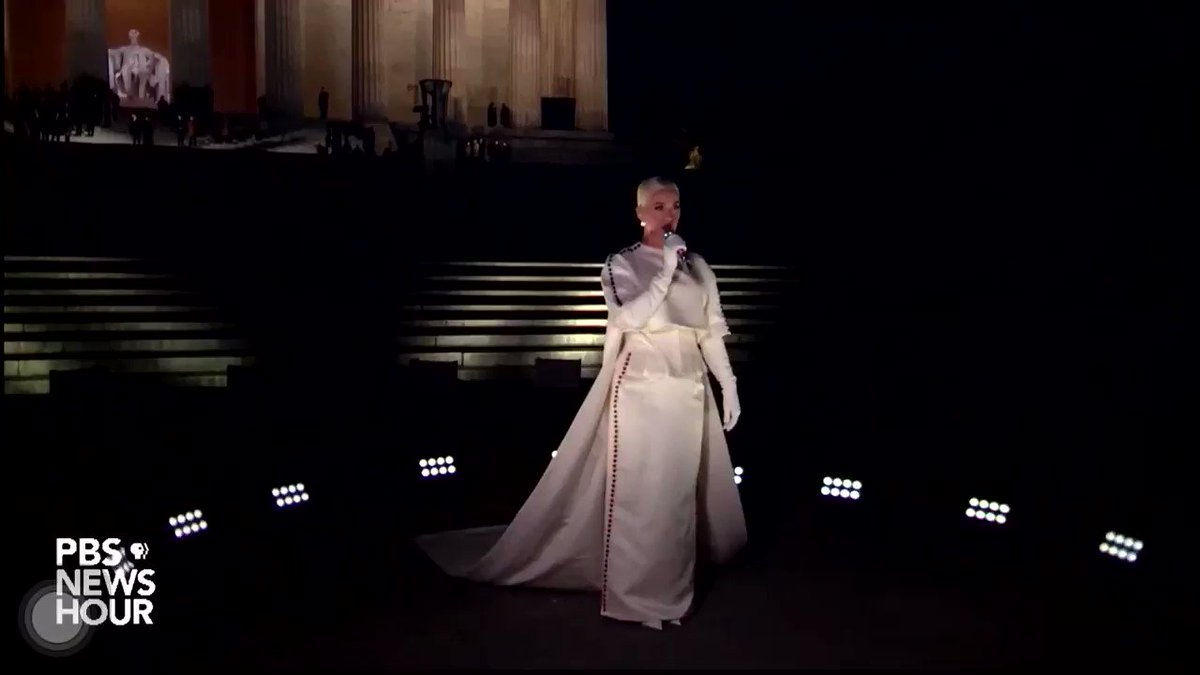 the fact is: you're only officially president after Katy Perry sings Firework to you🥂  #CelebratingAmerica