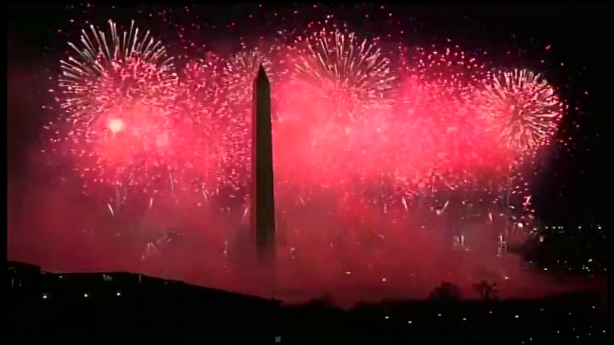 I FINALLY have a reference point for my wedding fireworks show #CelebratingAmerica