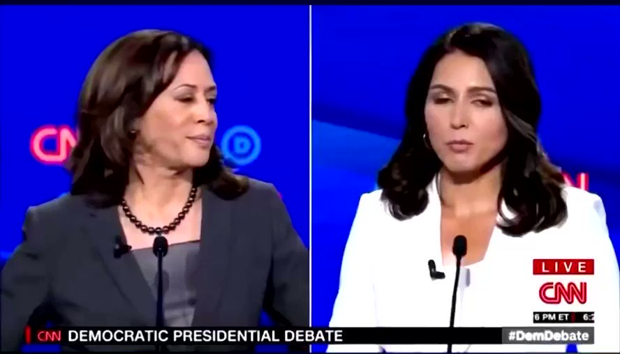 Replying to @DamonMoore21: Tulsi Gabbard is trending so I thought I'd bring this masterpiece back to the timeline