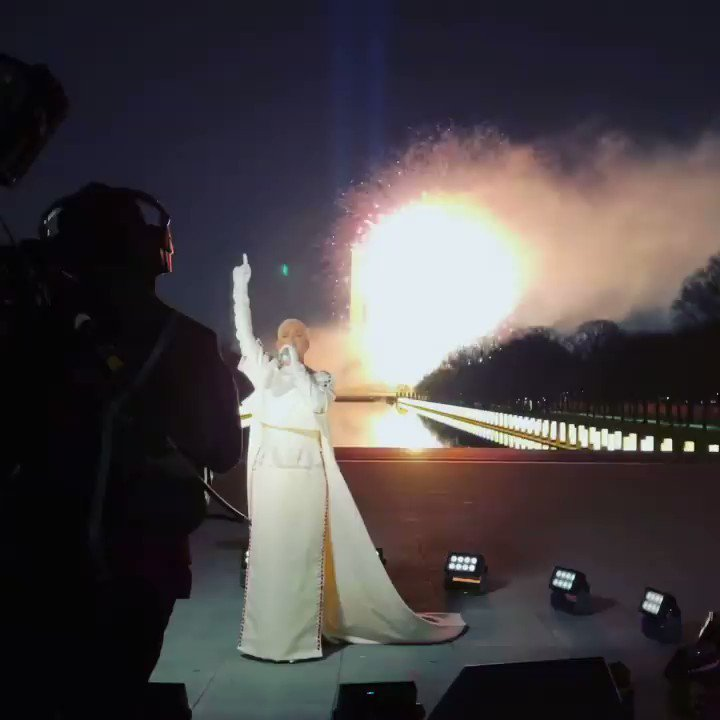 Replying to @lukasperry: this is even more epic than watching it on TV... KATY PERRY literally owns fireworks