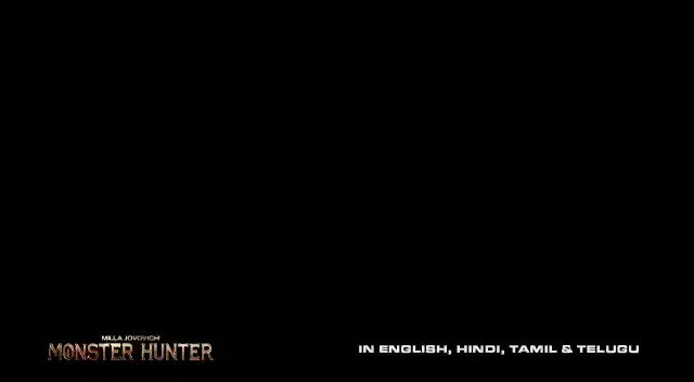 IN CINEMAS 5 FEB 2021... From the makers of #ResidentEvil... #Sony Pictures to release #MonsterHunter - starring #MillaJovovich and #TonyJaa - in *cinemas* on 5 Feb 2021... In #IMAX and #3D... #English, #Hindi, #Tamil and #Telugu... NEW TRAILER...
