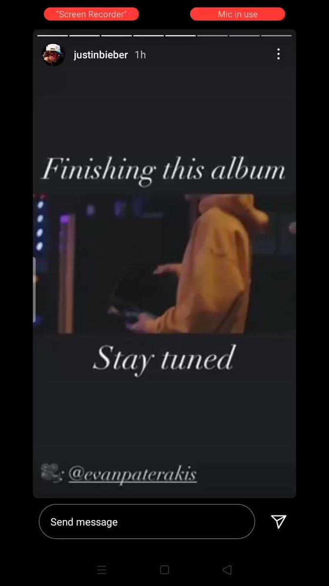 @justinbieber VIA INSTAGRAM #JustinBieber #ANYONE #JB6 !! Jb 6 is coming guys can't wait !!