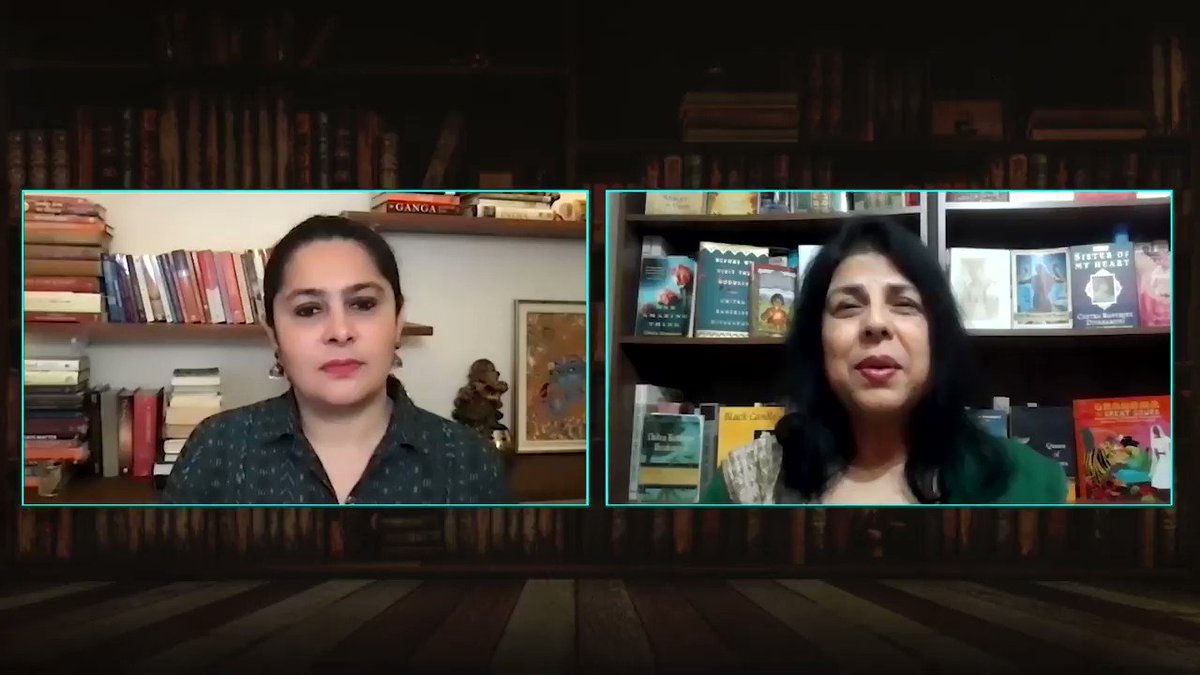 From being the daughter of a kennel keeper to becoming the Queen of Punjab to being imprisoned by the British, Rani Jindan's life was full of ups and downs. Her story is brought alive in a new novel by @cdivakaruni  Full video here-