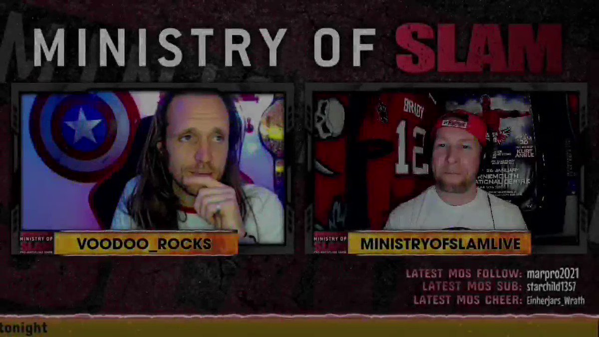 I loved @MinistryOfSlam being back in the air this past Sunday on #twitch   Check out this clip of @SCAsgardian and me talking @Sting @DarbyAllin and how #AEW treat their legends.  Join us LIVE this Sunday    #AEWDynamite #WWENXT