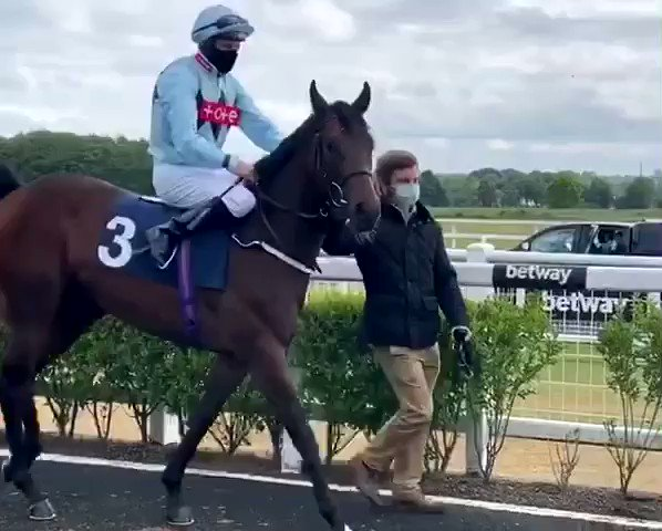 🏇He's back on the track and ready to roll. DOUBLE DEALING runs today at Lingfield. Good luck to Barry McHugh and all connections.🏇