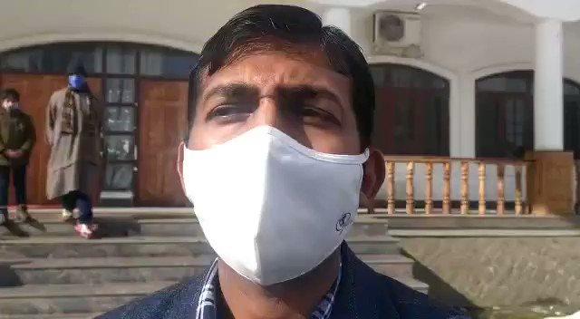 Watch* @KNSKashmir  Anantanag DC Anantanag talking to   #KNS Tasaduq Rasheed @diprjk