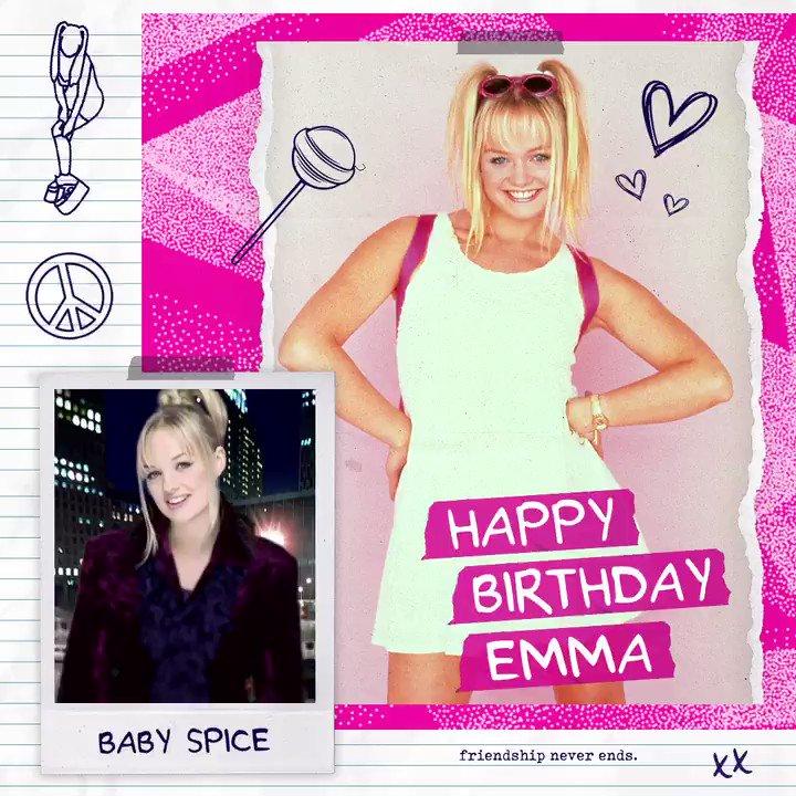 💕💖  Happy birthday Baby Spice (@EmmaBunton ) 💖💕