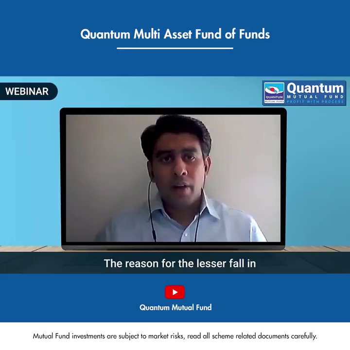 We are sure you have many questions regarding Quantum Multi Asset fund of Funds. Mr. Chirag Mehta our Sr. Fund Manager has answered them all for you, he explains how this fund is truly balanced in asset allocation for your portfolio. Link - https://t.co/gNKsO28bZT #mutualfunds https://t.co/Aqj80B0DZq