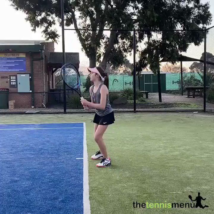 "Watch how the player uses her back leg to drive and create ""ground force reactions"", all while challenging her balance and positioning...  #tennisdrill #tennisgirl #tenniscoach #tennis #tennisonline #tennislesson #tennistips #learntennis #biomechanics #sportscience #coaching #fun https://t.co/3aUZf1uVfU"