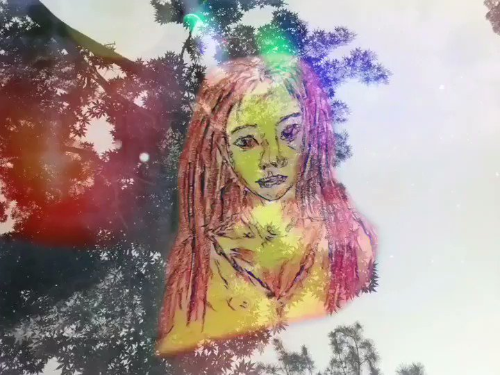 ★癒しのアート ~Clairvoyante 千里眼~  #美しい #絵画 #音楽  #音 #アート #イラスト #love #eros #お休み #癒し #アート好きさんと繋がりたい #アートのある暮らし #芸術 #life #beautiful #明けおめ #goodevening #art #artwork #music #healingart