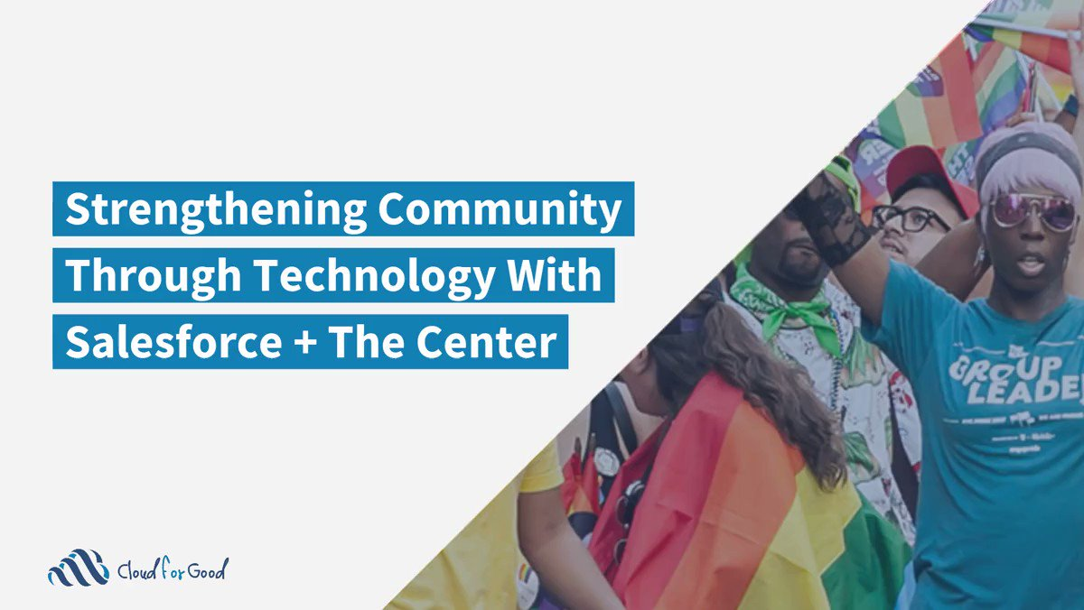 See how @LGBTCenterNYC has been able to celebrate the diversity of LGBTQ communities and advocate for greater justice and opportunity for those they serve with @SalesforceOrg Nonprofit Cloud's robust capabilities. -->