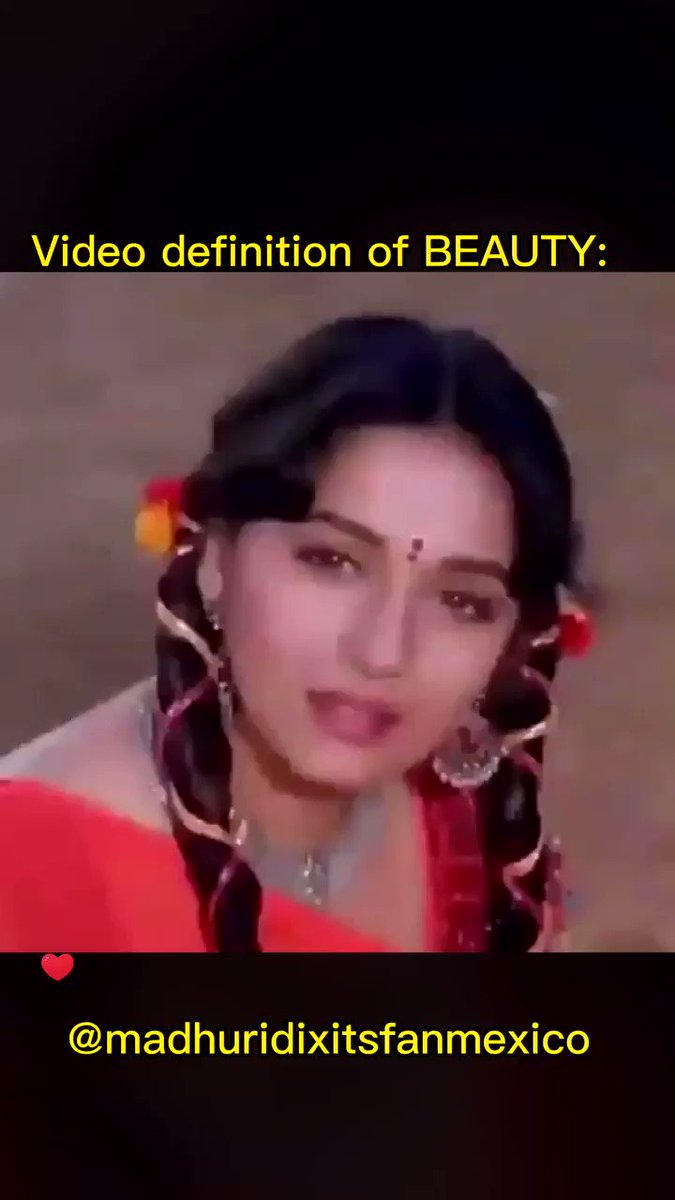 Video found in Twitter and now used for Video Dictionary. #madhuridixit #madhuri #beautiful #actress #wonderful #love #amazing #dance #artist #bollywood #film #amazing #movies #awesome #stunning #cute #gorgeous #talented #sexy #muse #inspiring #glamorous #pretty @madhurisfanmex