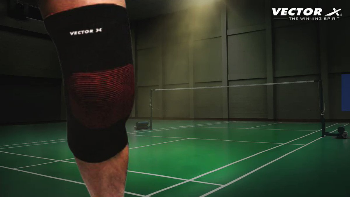 Unleash the explosive power with Vector X that keeps your knee protected and foot in place. Experience the best support, protection, comfort, style & a perfect grip to game up. Available at  . #VectorX #TheWinningSpirit #badminton #badmintonshoes #kneeguard