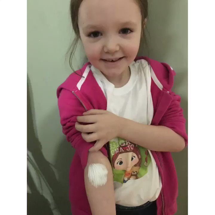 Jessica had her X-ray after taking transit study nurses were amazing  , bloods from her arm for the first time she was so brave and blood nurses were so lovely then medication to help her gut , :) #jessicasjourney #bravelittlelady @AlderHey @rad_alderhey