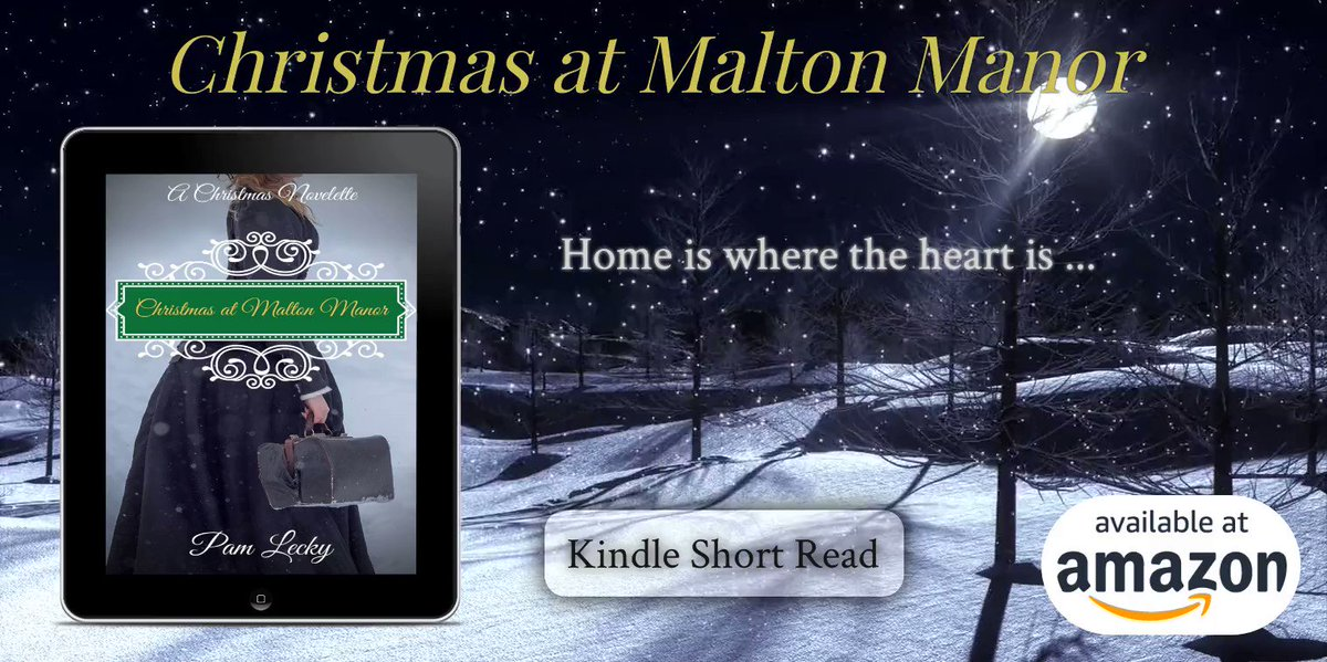 A #Victorian #Christmas #Romance Home is Where the Heart is … CHRISTMAS AT MALTON MANOR A Kindle Short Read  * eBook * KU * Amazon Worldwide