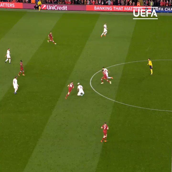 Salah golazo against his former team 🚀  #UCL | #TBT | @LFC