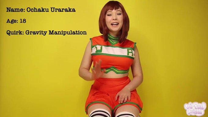Ochako Uraraka has made her Adult film debut! ✨💦  RT if you think her career seems promising 😉🥰  https://t