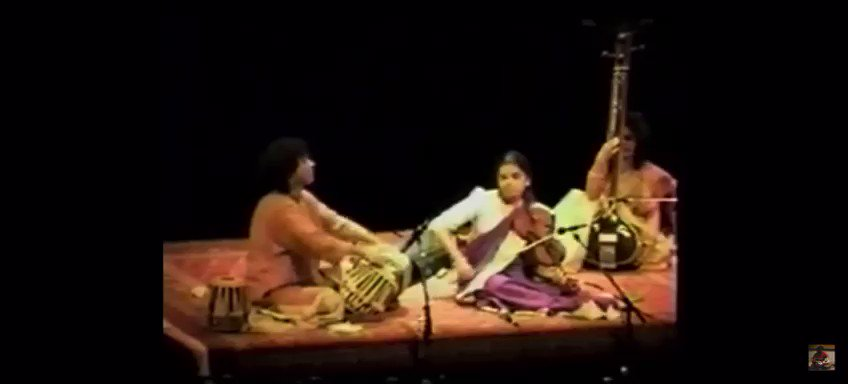 A small clipping of my playing with most revered Ustad Zakir Hussain 26 years ago!! #ThrowbackThursday #Memories #Grateful #blessed #happy #Thankful #violin #indianclassicalmusic #tabla