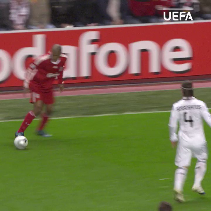 Steven Gerrard nets on a famous European night at Anfield 👀  #UCL | #TBT | @LFC