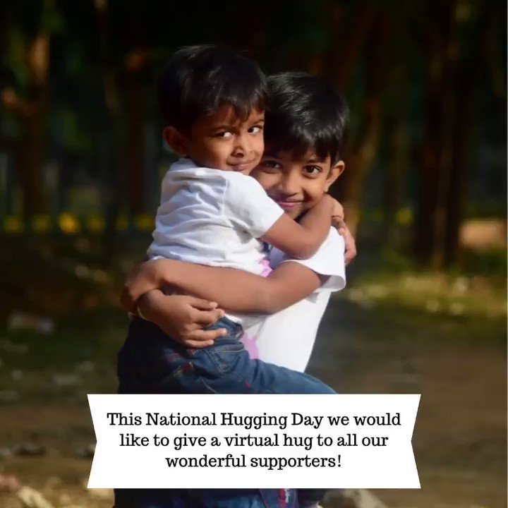 Happy National Hugging Day! We would like to extend a virtual hug to all of our supporters. 🤗  Tag someone in the comments below you would like to extend a virtual hug to!  #thanks #huggingday #nonprofitlife #nonprofitorganizations #nationalhuggingday