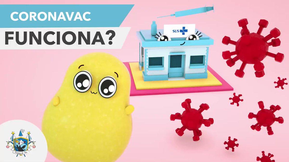 @felipeneto Felipe, o Bolsonaro agora está inventando que a vacina não funciona!! Minha esposa e eu trabalhamos nessa animação para explicar didaticamente até para crianças que funciona sim e muito bem. Se puder ajudar divulgar agradecemos muito! #TodosPelasVacinas