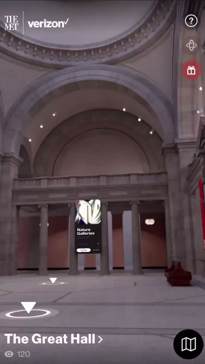 In a year when access to cultural institutions and experiences have been greatly limited, The Met Unframed by @verizon and @metmuseum is bringing world-class art to everyone, no matter where they are. Discover more at  #TheMetUnframed #VerizonAmbassador
