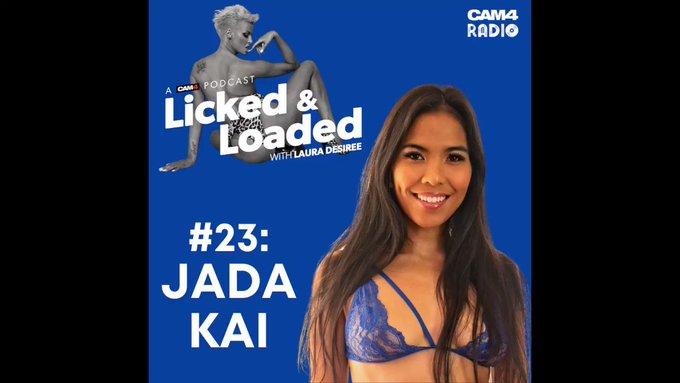 ALL NEW #LickedandLoaded!💋 Career figure skater turned porn star @officialjadakai joins @lauraxdesiree