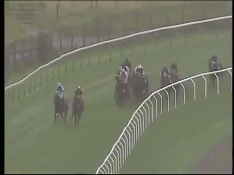 Time for a #ThrowbackThursday video... The magnificent teenager Megalala, trained by John Bridger, won eight times here at Brighton including a victory as a 14-year-old in October 2015 🏇