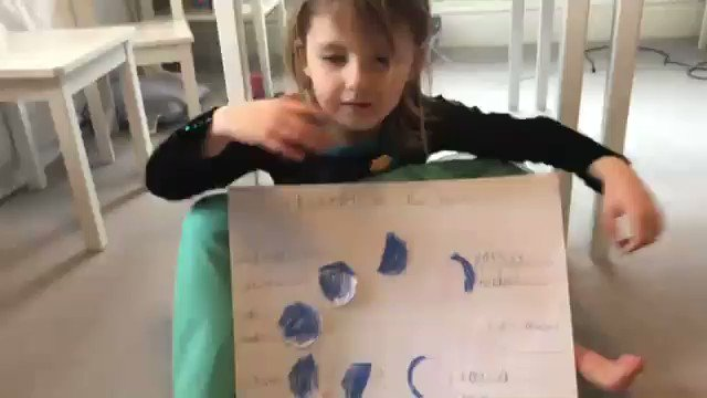 The Reception children have been learning about space in their home learning lessons. Here is Ottilie doing a brilliant job of describing the phases of the moon. 🌛🌖🌔🌘🌒 #homelearning #LongacreAtHome #preprep #Reception #PrepSchoolSurrey #LongacreLife