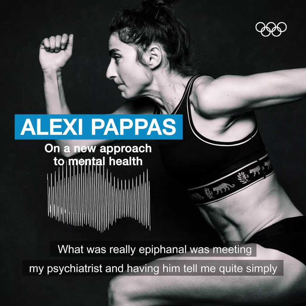 An award-winning filmmaker, author and Olympian, @AlexiPappas has lead a life that many dream of.  But after competing in Rio 2016, she became clinically depressed.   Hear her story first hand on this week's podcast:   @HellenicOlympic @WorldAthletics