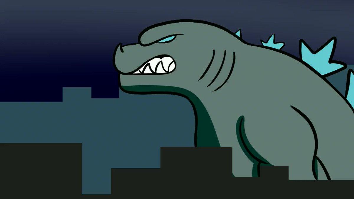 I am so ready for #GodzillavsKong. Team Godzilla baby #animation