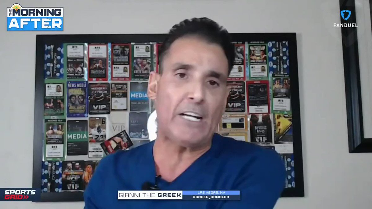 """UFC: """"He's a counter-puncher, and that's exactly what Dustin Poirier is going to give him.""""   ⬇️ @Greek_Gambler joined #TMA to discuss why he started betting on Conor McGregor, for UFC 257, back in November...  #MMATwitter #UFC257 https://t.co/1EJxaAFSjF"""