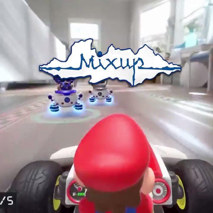 ¡Ya disponible la preventa de #MarioKartLive #homecircuit! ¡  No te quedes sin el tuyo!. 😱👏  ¡Podrás un kart de Mario Kart a través de tu casa!  Preventa disponible en  o en tiendas con servicio Pick Up: