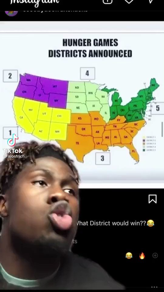 USA Hunger Games predictions: Dont mess with District 3. First thing were gonna do is put Florida Man on the front lines... There aint no telling... He could show up nekkid and rob all your Burger Kings. 😂😂😂😂😂