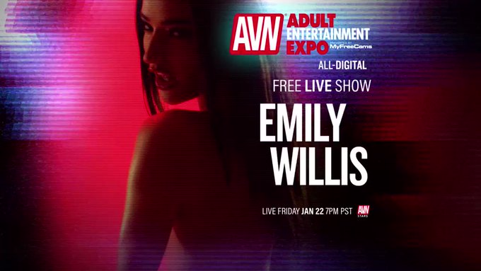 One more day 🥰✨✨ join me tomorrow at 7 pst on  @AVNMediaNetwork  https://t.co/aB8LBp5IoK https://t.c