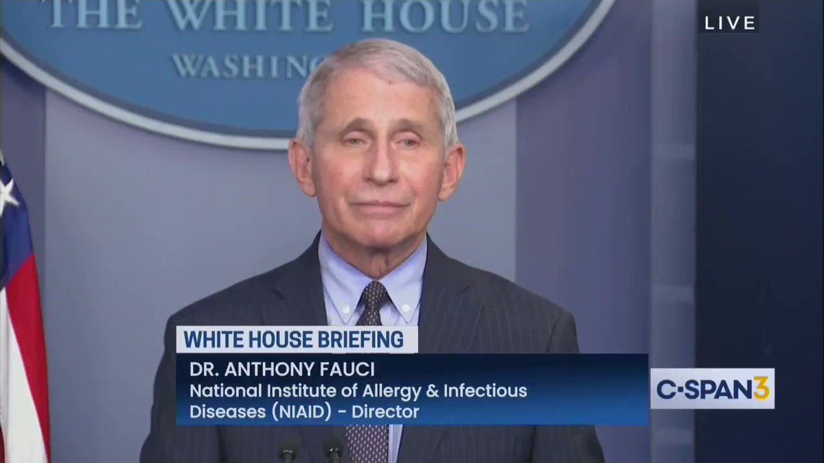 Fauci has more shade for the Trump administration