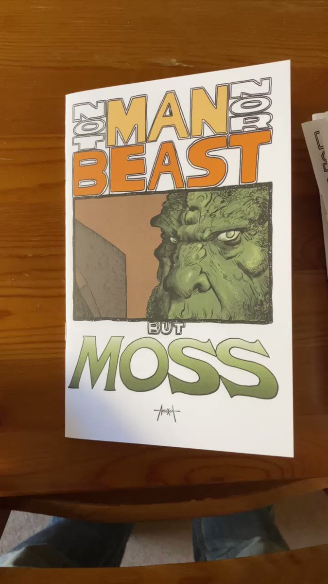 My Mossman comic is done! The only way to get one is to sign up to my Patreon. I'm only printing 20 with this cover, so act fast.  #motu #make more comics #patreon #comics #mossman #beastman #skeletor #heman #mastersoftheuniverse
