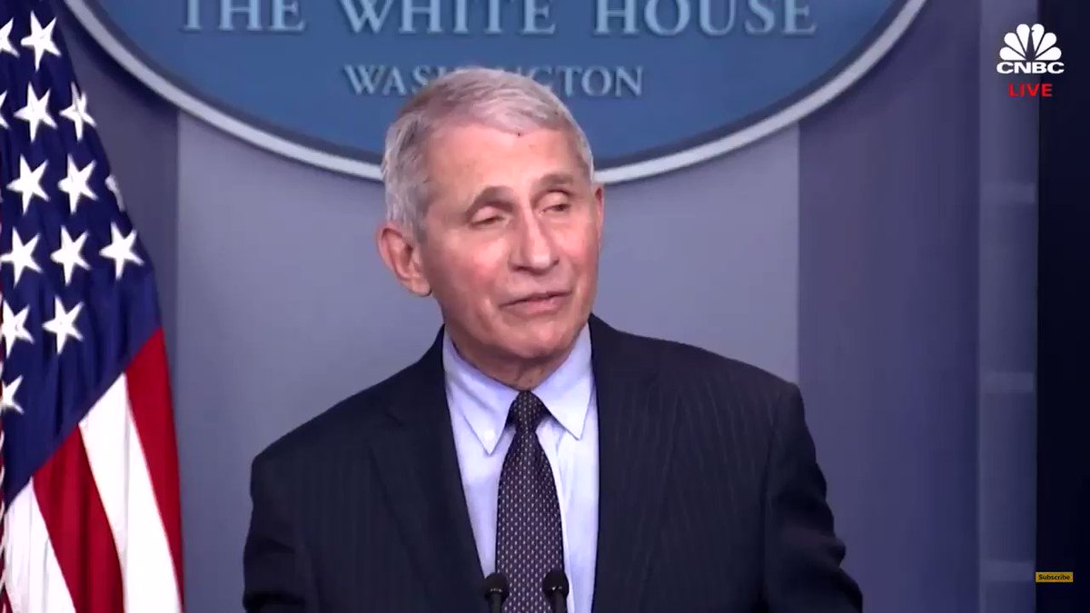 Dr. Fauci speaking about monoclonal antibodies today at the White House Press Briefing.   $ENZC  (I screen recorded this from my iPhone and when I transferred it to twitter the video was slightly delayed. I know it annoys me too.)