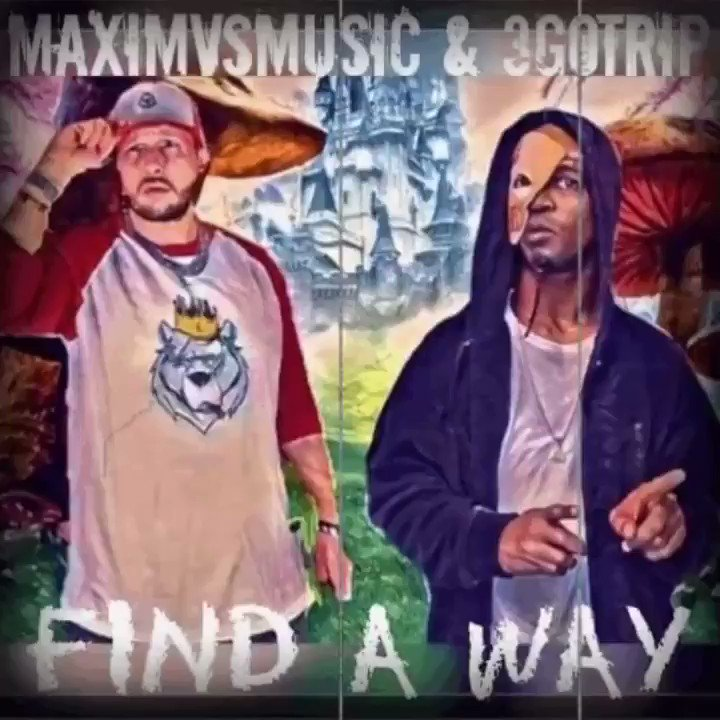 """Me and my homie @maximvsmusic just dropped another one! """"Find a Way"""" comes out Jan 31st #NewMusic #SpotifyPlaylist #ArtistOnTwitter #music #chill #indiemusic #rap #hiphop #vibes #chillhop #cool #3gotrip #maximvsmusic #IndependentArtist #rapper #rt"""