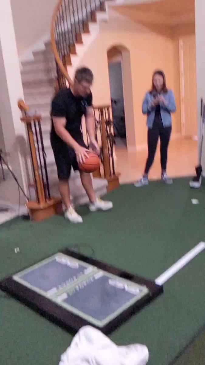 Bryson doing basketball