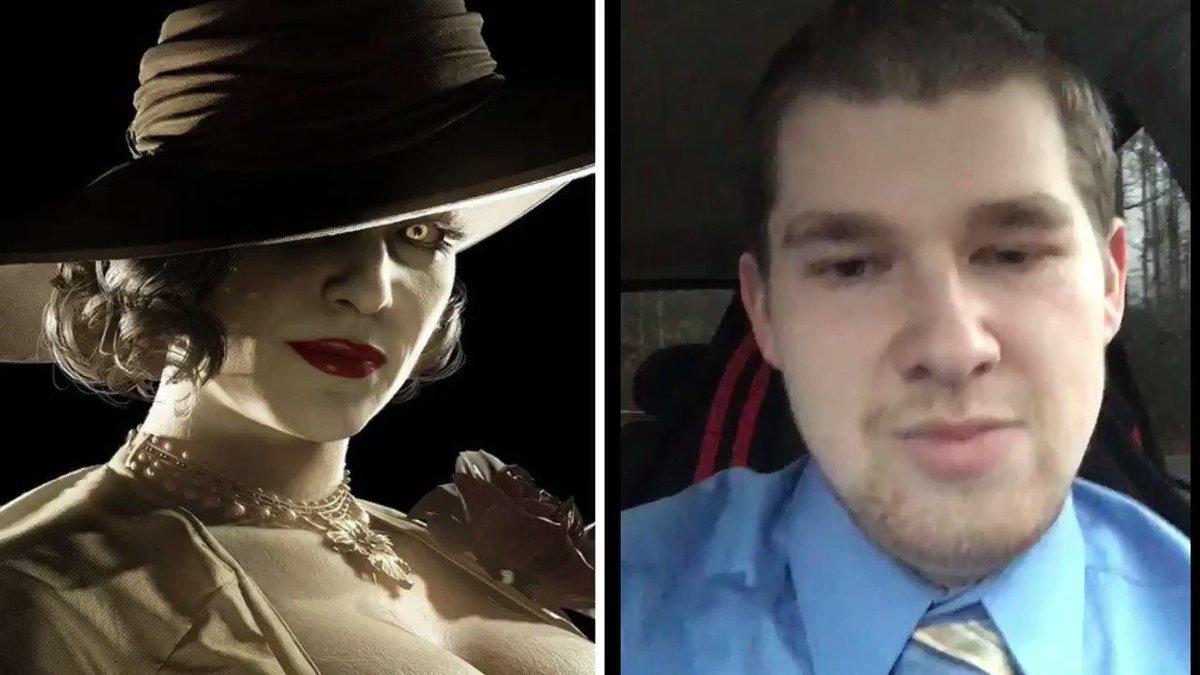 Normalize Loving Tall Vampire Women @RE_Games #ResidentEvilVillage #ResidentEvilShowcase #tallvampirelady
