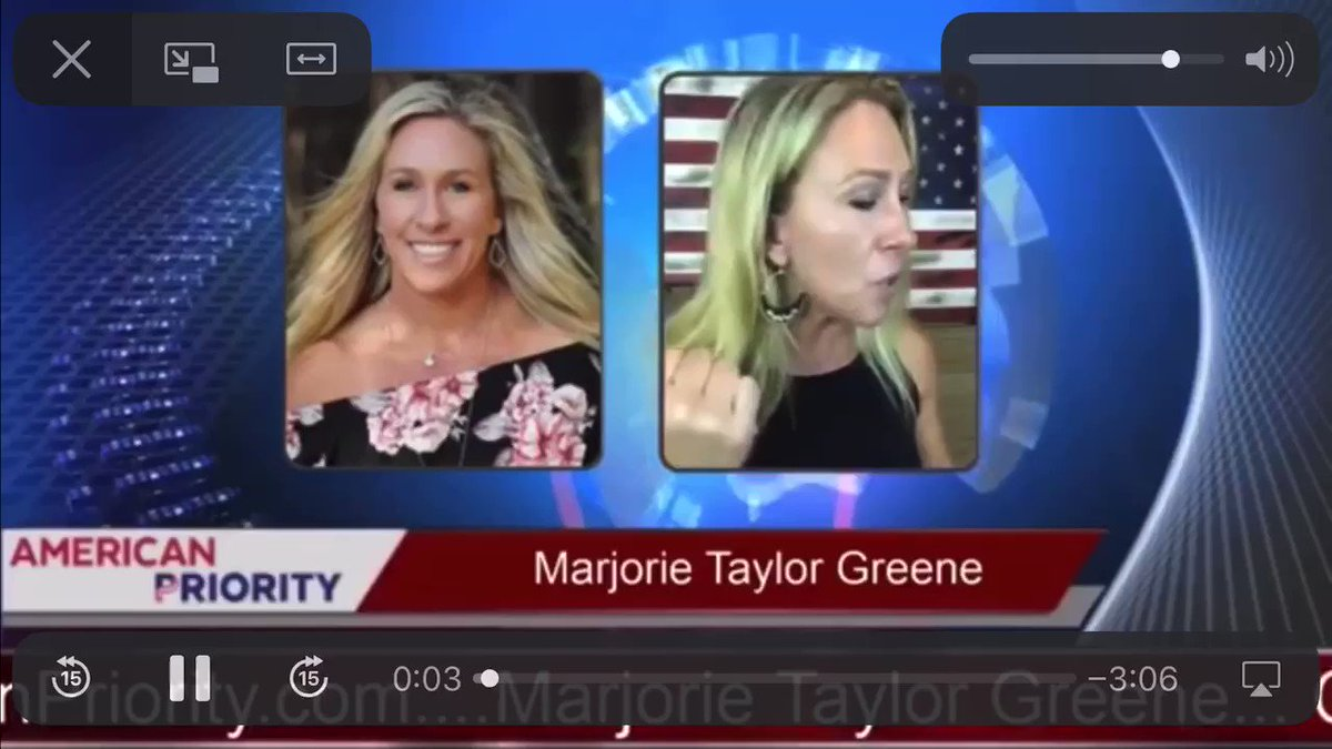 Marjorie Taylor Greene says Obama allowed MS-13 to cross the border and kill Seth Rich.