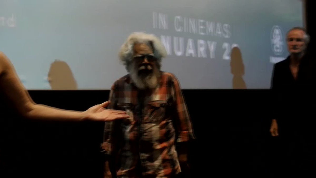Big thank you to Uncle Jack Charles who joined us to introduce #HighGroundFilm at the Melbourne Premiere at @palacecinemas last night.