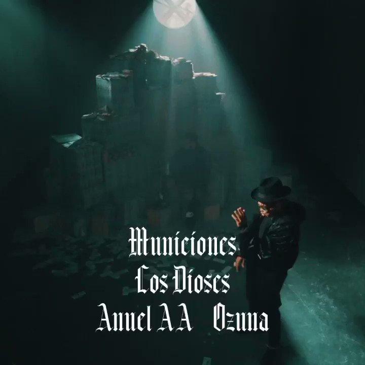 ¡Sorpresa! Ya puedes ver #Municiones lo nuevo de #LosDioses @Anuel_2bleA y @ozuna