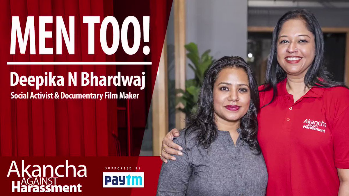 It's not an easy task fighting for men's rights in a biased society, mindset & often laws. @DeepikaBhardwaj faces severe challenges in this journey but she hasn't given up.   Watch what she says about her journey. Kudos Deepika!  #AAH #CyberSafety #MenToo