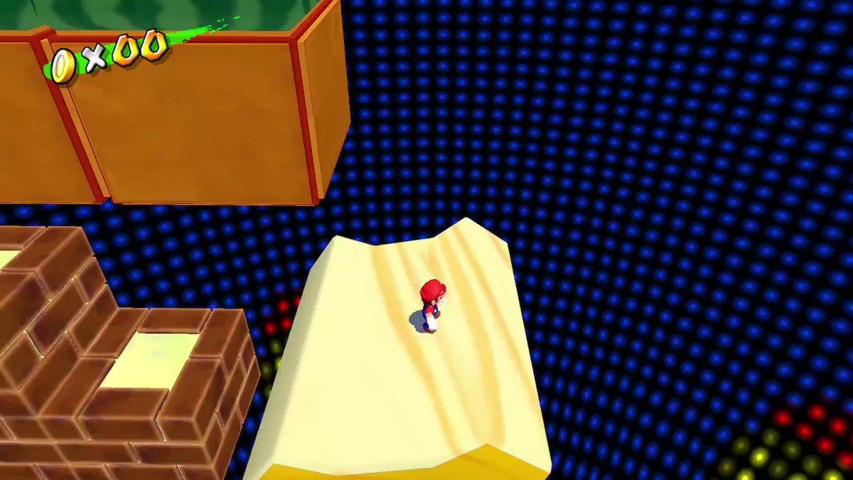 was dancin' on that log #SuperMario3DAllStars #NintendoSwitch