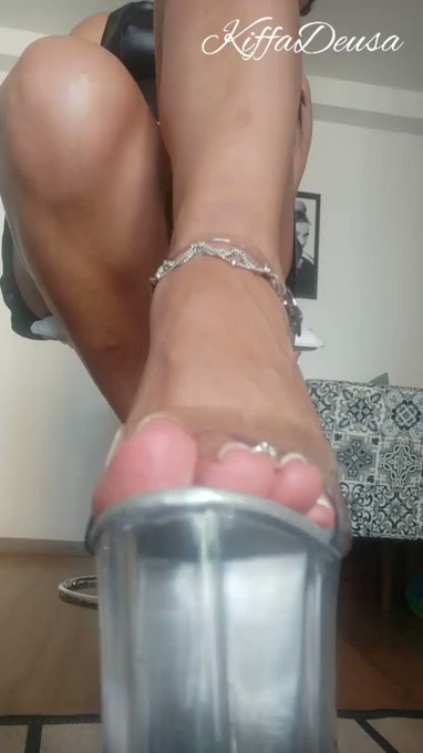 Another Item Sold! Goddess Kiffa Dominant JOI with Glass heels  and French nails https://t.co/FsV9C2FZjv