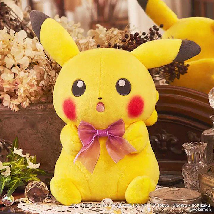 明日から、 #一番くじ で「Pokémon for you~Dramatic Collection~」が始まります✨✨  かわいいグッズ、一気見せ‼  ゆめみごこち~😍
