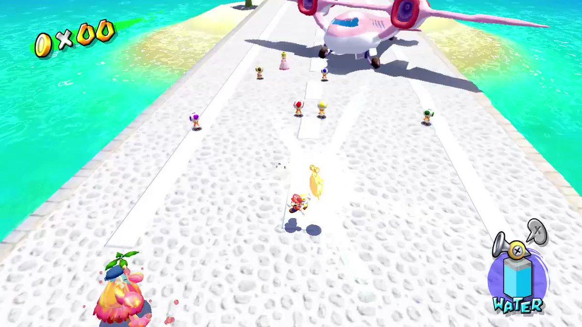 my first shine! #SuperMario3DAllStars #NintendoSwitch