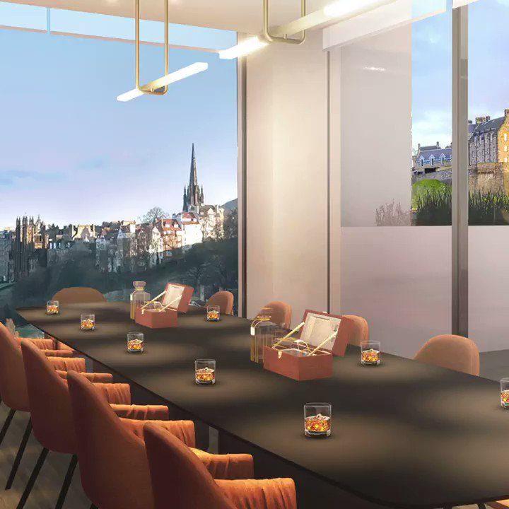 Welcome to Drams and Dining. Enjoy a world-class view over Edinburgh with a dram and local bite! Be the first to know – register for updates: spr.ly/6019HnFT5 #jwprincesstreet #johnniewalker #edinburgh #scotland #SpiritofProgress #KeepWalking